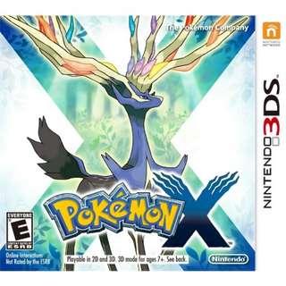 [New] Nintendo 3DS: Pokémon X