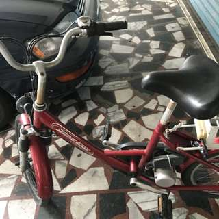 Ebike with new charger
