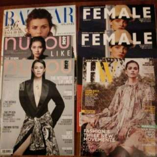 Brand new Her World, Female, Bazaar women magazines
