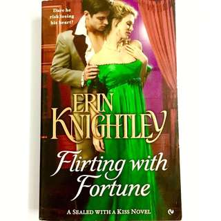 Flirting with Fortune by Erin Knightley (historical romance book)