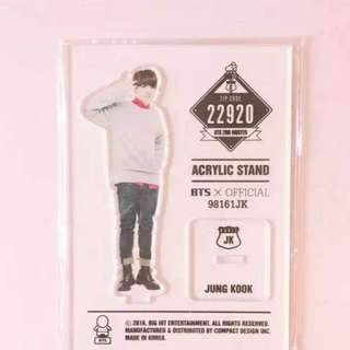 BTS Official Acrylic Standee