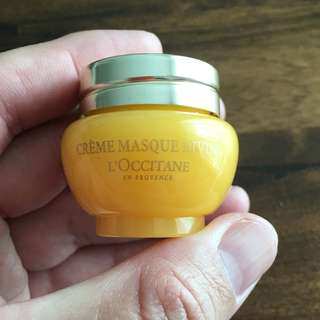 L'OCCITANE Immortelle Divine Cream Mask 8ml