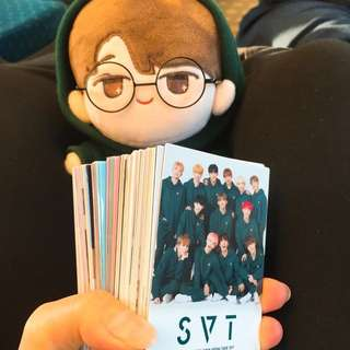 2018 SEVENTEEN JAPAN ARENA TOUR <SVT> Trading Cards.