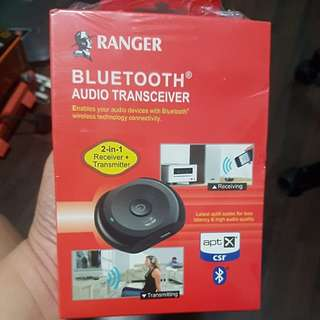 Ranger Bluetooth audio transceiver