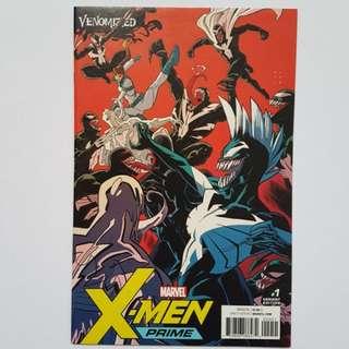 Marvel Comics X-Men Prime 1 Venonmized Variant Near Mint Condition First Print