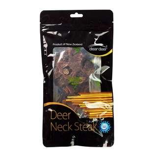 Dear Deer Freeze Dried Deer Neck Steak 100g