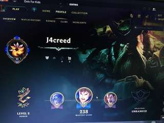 LoL . Selling My league of legend account