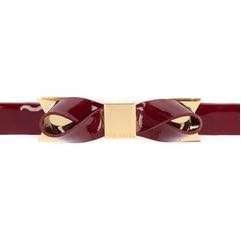 Ted Baker Bowett Patent Bow Belts