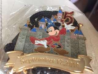 迪士尼襟章繩 - 五週年和十週年
