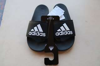 Authentic Adidas Adilette Men's Slide Sandals (Black)
