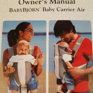 Baby Bjorn Baby Carrier Air