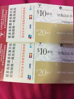 MICHAEL KORS VOUCHER