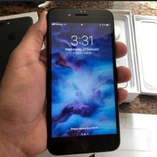 iPhone 7 plus 128gb full set 95%new