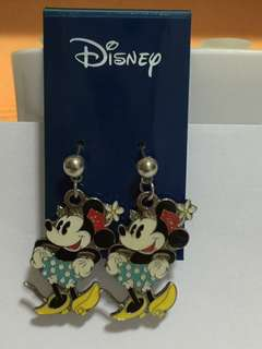 米妮穿耳環 Minnie Mouse Pierced Earring (Brand new 全新)