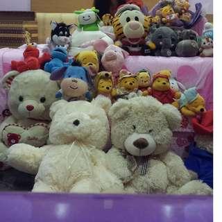 Teddy bear - winnie the pooh, paddington ....
