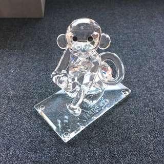 Crystal Monkey HSBC 水晶馬騮仔