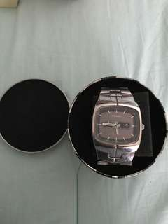 Vintage Fossil Blue mens' watch