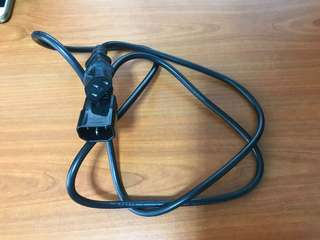 3 pin power extension cable