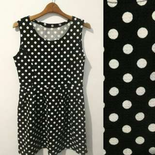 Polkadot Mini Dress