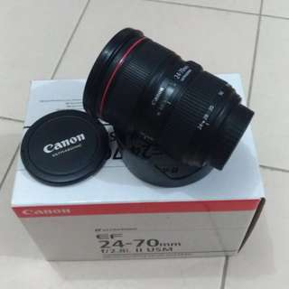 Canon 24-70 f2.8 ll