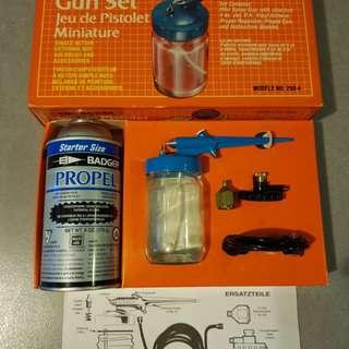Badger Air Brush Mini Spray Gun Set