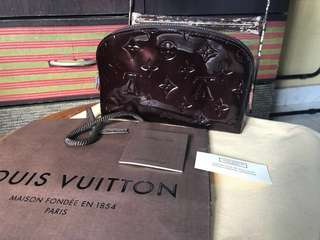 Louis Vuitton Monogram Vernis Cosmetic Pouch