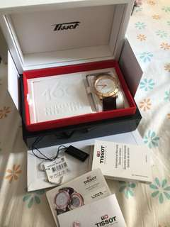 2013 tissot 18k red gold limited edition 28/333 full set