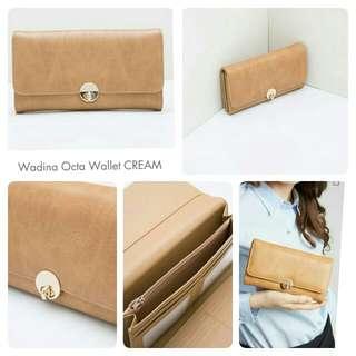 Dompet Wanita Wadina Octa/cream