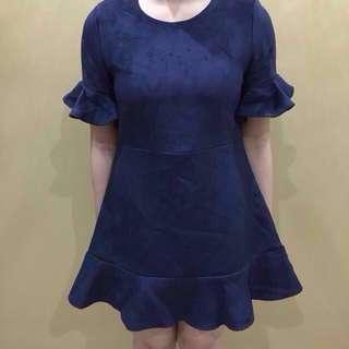 Mini Dress navy KOREA