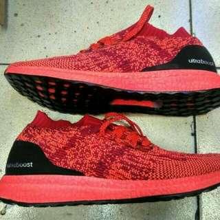 Sepatu Adidas Ultraboost uncaged solar red - High premium