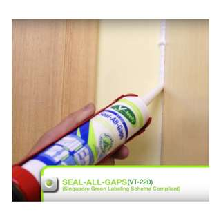 Acrylic Sealant - Seal All Gaps - Paintable - Eco Friendly