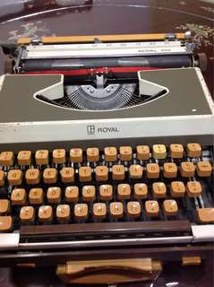 Antique Typewriter -  Royal 202