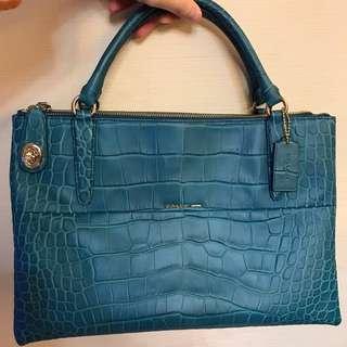 100 % real Coach handbag ( 99% new)
