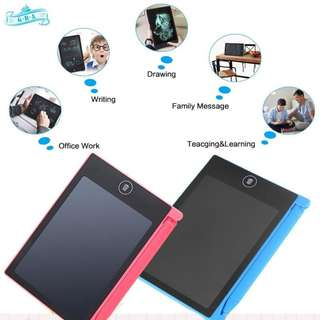 GRA Message Board LCD Writing Tablet Handwriting Pads - BLUE ONLY