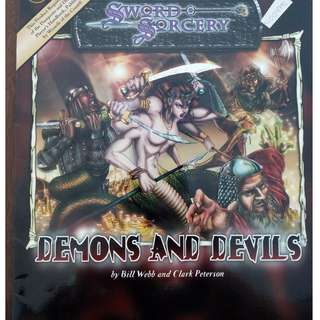 Sword & Sorcery - Demons and Devils d20 system RPG book