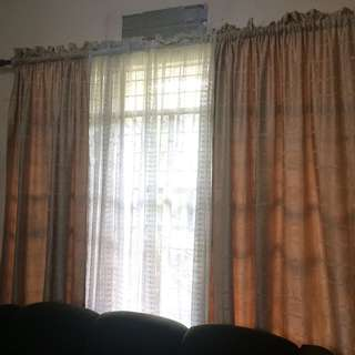 Curtains 4 pcs ( moving out sale )