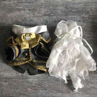 小型狗西裝婚紗