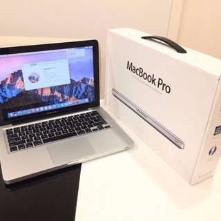 "Macbook Pro 13"" i5 2.5 Mid 2012 non retina"