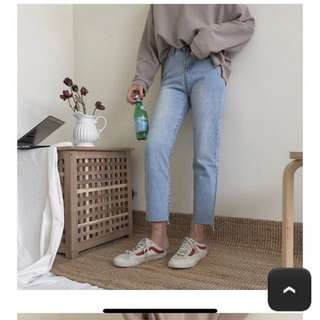 全新aaourbuy牛仔褲