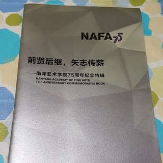 Nafa 75th Anniversary Commemorative Book