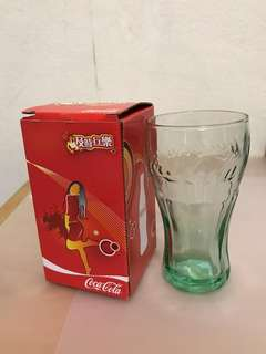 Coca Cola glass (made in USA)