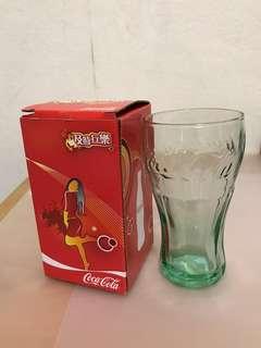 Coca Cola glass (made in USA)