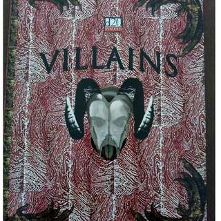 d20 system RPG book - Villains