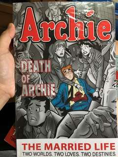 "ARCHIE ""DEATH OF ARCHIE"" THE MARRIED LIFE"