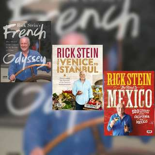 Rick Stein's Books (Recipes + Memoir)