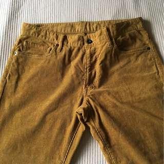 Uniqlo corduroy pants
