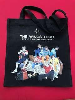 BTS Eco Bag B&W