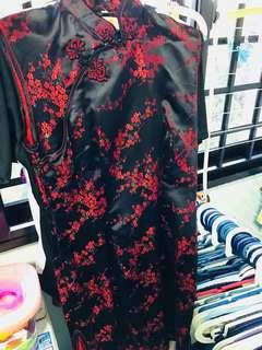 Preloved cheongsam dress