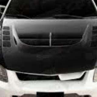 Car Bonnet sticker wrap