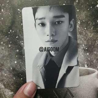 Chen Official Photocard EXO Winter Album Universe